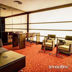 Hotel Transamérica - SP | Painel em tela translúcida - Projeto: Moema Wertheimer.
