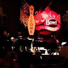 Rock 'n' Roll - July - 1950's themed. Rock 'n' Bowl in New Orleans, LA