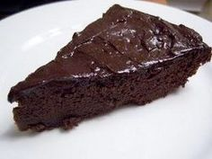 Flourless Black Bean Devil's Food Cake with Chocolate Coconut Oil Icing