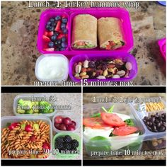 Cool back to school lunch ideas! Credit to Bethany mota