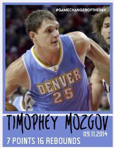 Timophey Mozgov 09.11.2015