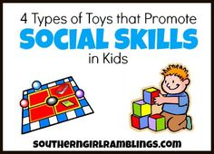 Toys that Promote Social Skills in Kids