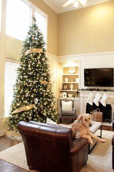 tiffanyd christmas home tour 2013 12 foot christmas treechristmas