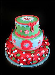 Pip studio inspired cake (made by caek.nl)