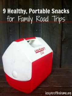 Don't sabotage your next family road trip by not packing healthy and portable snacks! Having healthy snacks on hand helps you to avoid the bad gas station snacks along your route. Here's 9 real whole food snack ideas for your next family trip!