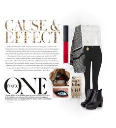 """""""Untitled #32"""" by lacey-holmes on Polyvore featuring Envi, WearAll, Topshop, Casetify and NARS Cosmetics"""