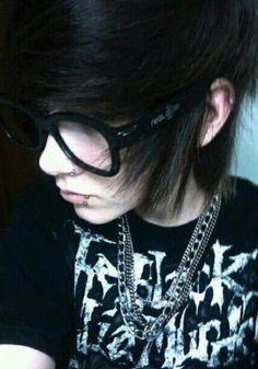 hot emo nerd guys