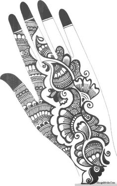 Quick Tips for Selection of Mehndi Dress Henna Hand Designs, Dulhan Mehndi Designs, Mehandi Designs, Mehndi Designs Finger, Indian Henna Designs, Mehndi Designs Book, Mehndi Designs For Beginners, Modern Mehndi Designs, Mehndi Design Pictures