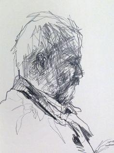 Sketches Of People, Drawing People, Sketchbook Drawings, Pencil Drawings, Life Drawing, Painting & Drawing, Moleskine, Urban People, Black And White Drawing