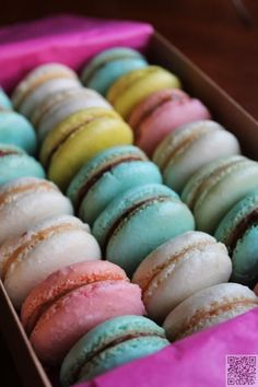 4. #French Macarons - Here Are the 45 Most Mouthwatering Macarons You'll Ever See ... → Food #Macarons