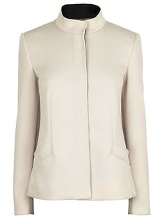 Buy James Lakeland Contrast Jacket, Cream/Black online at JohnLewis.com - John Lewis