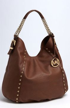 MICHAEL Michael Kors 'Large' Python Embossed Hobo available at Nordstrom