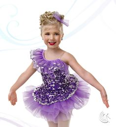Curtain Call Costumes® - Best Of Both Worlds - 2-in-1 Kids or baby ballet and tap/jazz dance costume