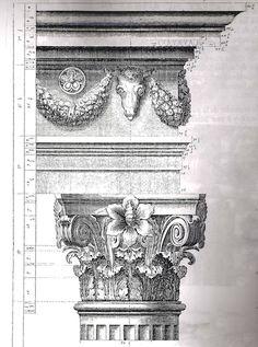 Figure 4 ~ Antoine Desgodetz, Les Édifices Antiques de Rome, 1682.