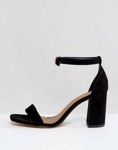 ca3f80aa3b3 ASOS HAYDEN Block Heeled Sandals - Black Black Sandals Outfit