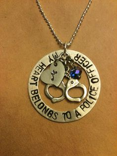 My Heart Belongs To  A Police Officer $28