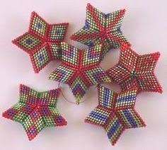 Image result for peyote stitch star