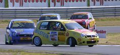 Volkswagen Lupo race car - sideways!