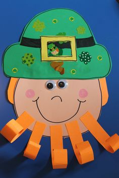 leprechaun craft - Google Search