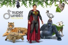 Super Durrell and Friends by urielwelsh