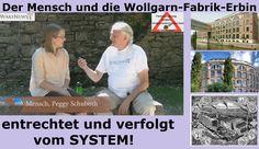 Der Mensch und die Wollgarn-Fabrik-Erbin Peggy - entrechtet und verfolgt...