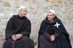 Hospitaller reenactors.