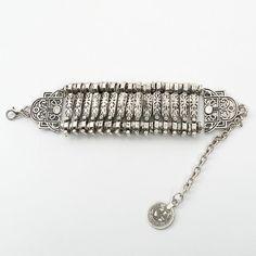 Vintage Boho Bracelets Bangles Gypsy Ethnic Multilayer Coin Charm Bracelets