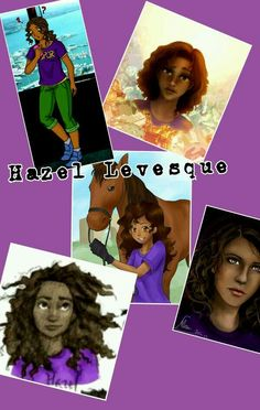 Hazel Levesque <--- love the pic of her and Arion it shows her true age. 13!!