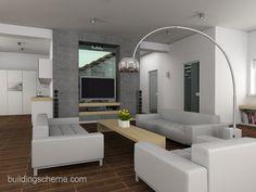 minimalist living | Modern Minimalist Interior Designs For Living Rooms: modern living ...