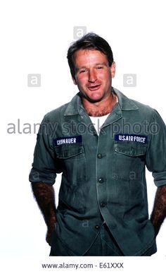 Oct 11, 1987; New York, NY, USA - Portrait of actor/comedian ROBIN WILLIAMS, star of 'Good Morning Vietnam', a Barry Levinson movie. © ZUMA Press, Inc./Alamy Live News