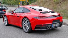 2019 Porsche 911 Caught Practically Naked Yet Again - CarBuzz Exotic Sports Cars, Cool Sports Cars, Sport Cars, Exotic Cars, Race Cars, Porsche Sports Car, New Porsche, Porsche Cars, Ferdinand Porsche