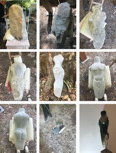 """""""Nimrod"""": Skulptur aus Serpentin-Stein aus Simbabwe. Entstanden auf einem Shona workshop im Kölner Zoo. August 2018"""