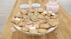 Biscuits aromatisés au thé au jasmin