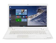 "Toshiba Satellite C70-C-1GH Portátil 17 ""White (Intel Pentium, 8 GB de RAM, disco duro de 1 TB de Windows 10) – Teclado AZERTY francés – [Importado de Francia]"