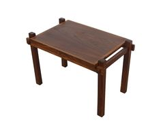 Rosewood Side Table Tray Table Coffee Table Danish Modern Arts and Crafts by HearthsideHome on Etsy