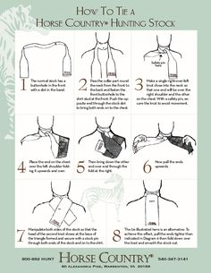 how to tie a stock tie