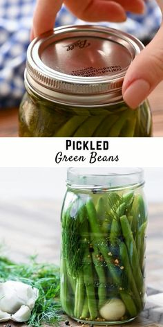 Preserving Green Beans, Lacto Fermented Pickles, Homemade Dill Pickles, Canning Sweet Pickles, Pickles Recipe, Canning Green Beans Recipe, Canning Beans, Canning Recipes, Healthy Recipes