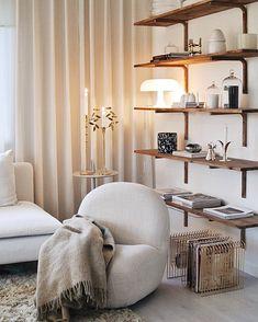 Dream Apartment, Apartment Design, Living Room Designs, Living Spaces, Interior Decorating, Interior Design, Scandinavian Home, Living Room Interior, My Dream Home