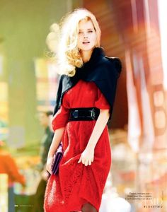 I Love New York in Elle Russia with Shelby Keeton