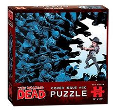 USAopoly The Walking Dead Cover Art Issue 50 Puzzle (550 Piece)