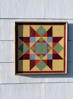 Barn quilt on wood for the side of the garage | Outdoor Projects ... : quilt block barn signs - Adamdwight.com