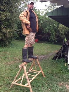 Build-your-own Bamboo Sawhorse Workshop