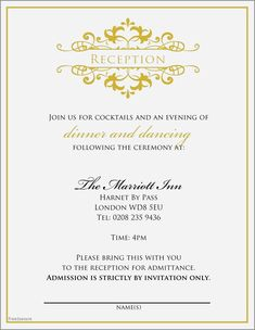 24 Courthouse Wedding Invitations