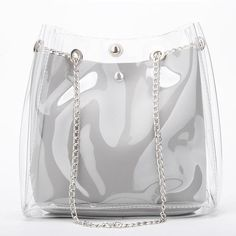 Discover recipes, home ideas, style inspiration and other ideas to try. Fashion Handbags, Fashion Bags, Clear Handbags, Types Of Handbags, Transparent Bag, Summer Handbags, Marc Jacobs Handbag, Cute Bags, Pouch Bag