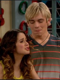 Auslly. I love it when he stares at her when shes not looking.