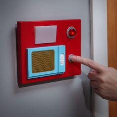 Electric Star Trek Door Chime. I am buying this. It does the door swoosh noise too.