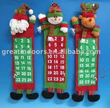 adornos navideños calendario - Buscar con Google