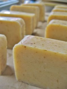 Goat's milk & lavender cold press soap recipe