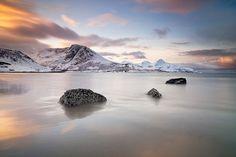 Norway Grotfjord by Peter Spencer