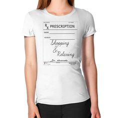 Woman Scribe Shopping & Relaxing T-Shirt yeah check out the new T-Shirt Collection Just what the doctor ordered #weekdaygirlnailboutique #tshirts #womanscribe